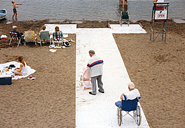 ADA Compliant Beach Boardwalks
