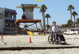 ADA Accessible Beach Boardwalks